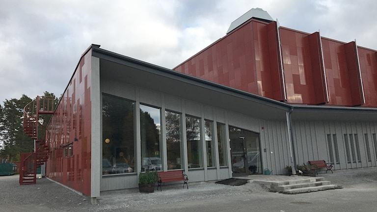 Det nya föreningshuset i Hackås