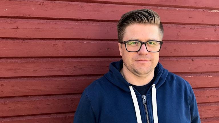 Martin Johansson regissör och skådespelare Jämtlands kulturkompani