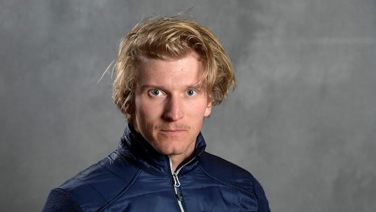 Viktor Andersson, skicrossåkare från Vemdalen. 171030. Foto: Anders Wiklund/TT