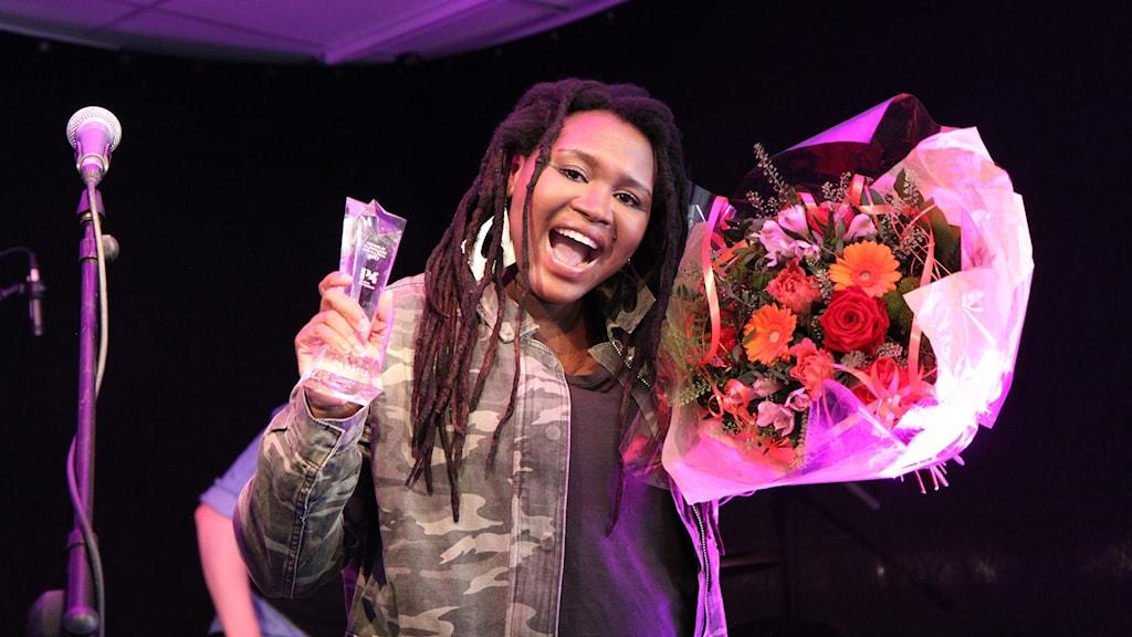 Sisanda - vinnare av P4 Nästa Jämtland 2017