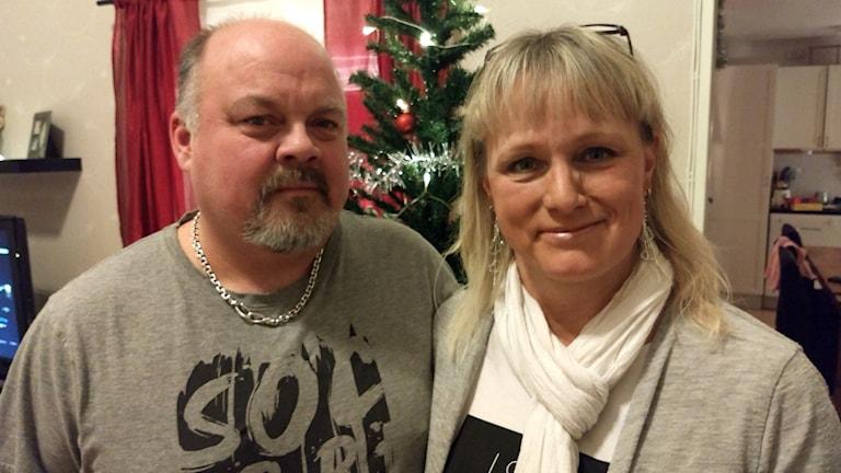 Stefan och Ann-Kristin Sahlin, Föddes på samma BB, gifta trettio år senare