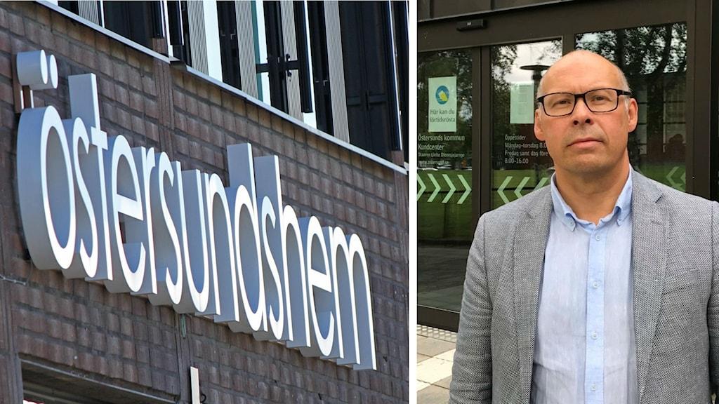 Unto Järvirova, Östersundshems ordförande sedan juni 2018 och ekonomidirektör i Östersunds kommun.