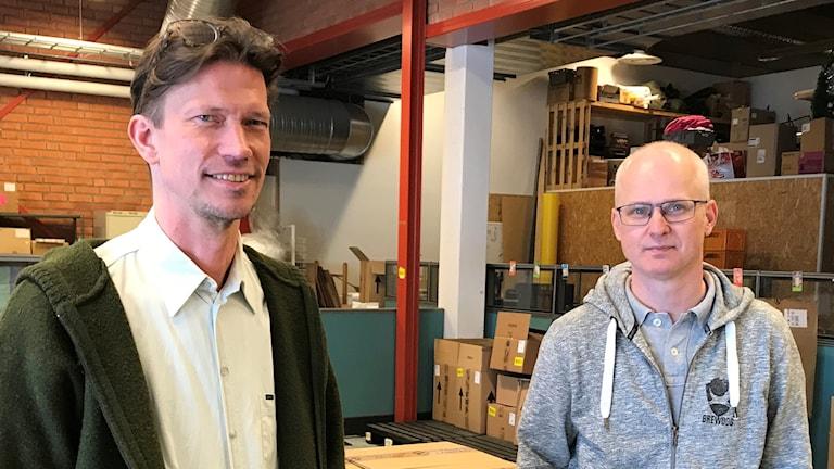 Martin Alfredsson och Trond Moden, Jamtsälj.