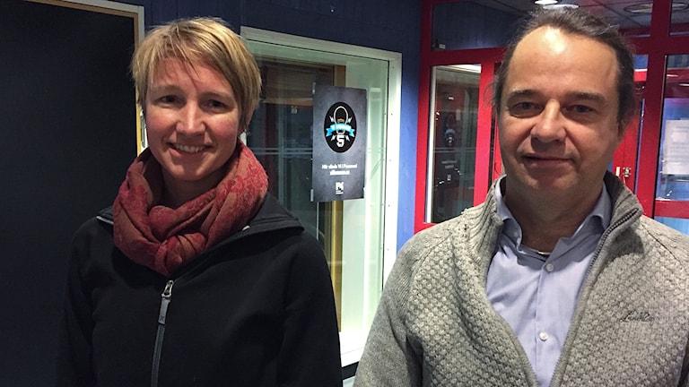 Christina Hedin och Dag Hartman