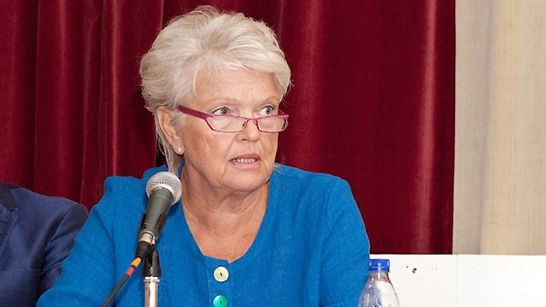 Distriktsläkare Margaretha Lööf-Johansson