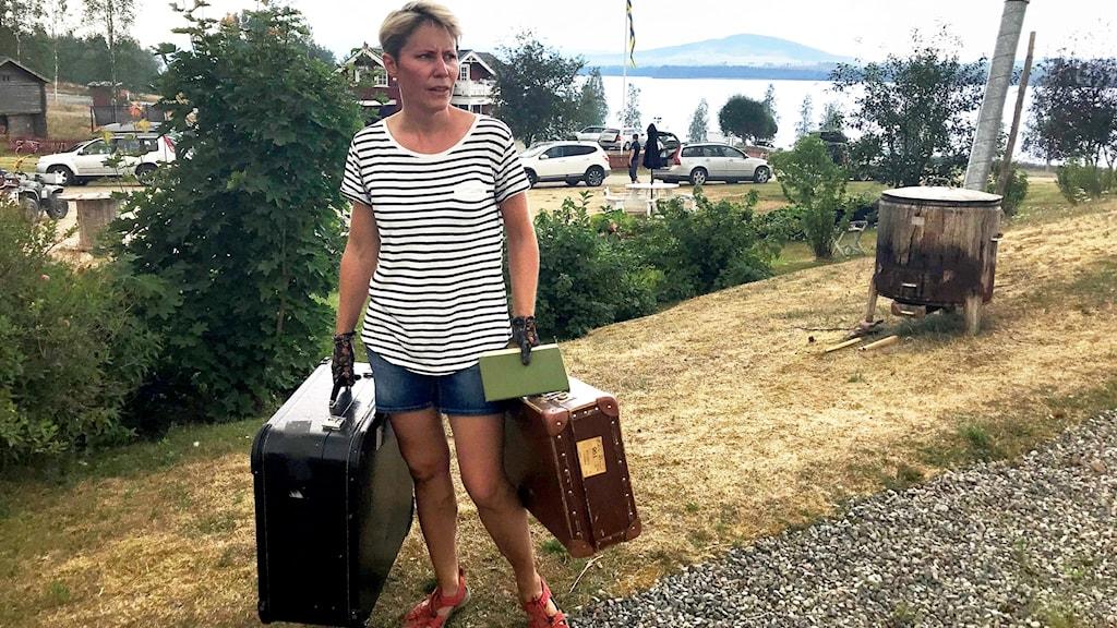 Susanne Brunnsberg lantbrukare Härjeåsjön