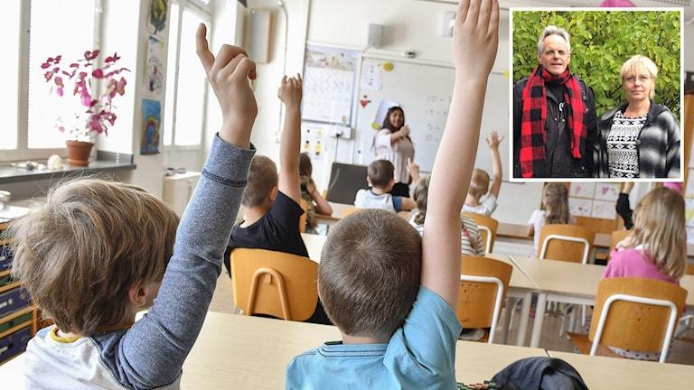 Lena lorentzen professor i industridesign och Lars Åke Mikelsson, lektor Mittuniversitetet.
