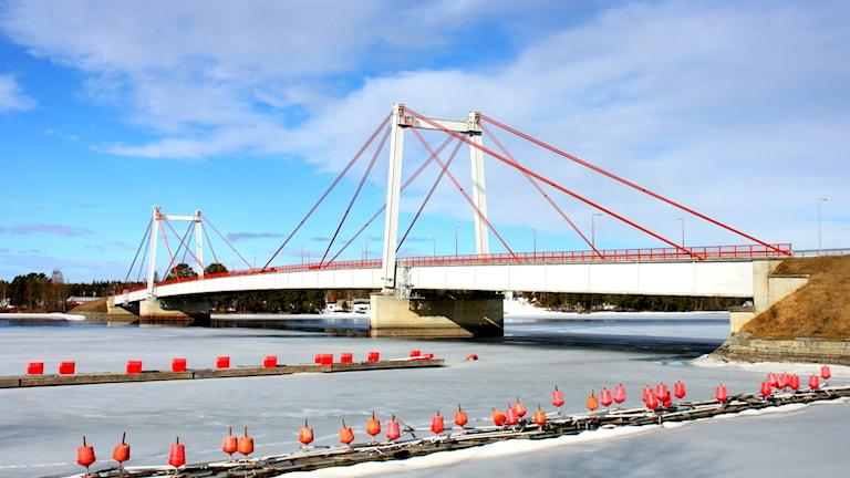Bro över älv