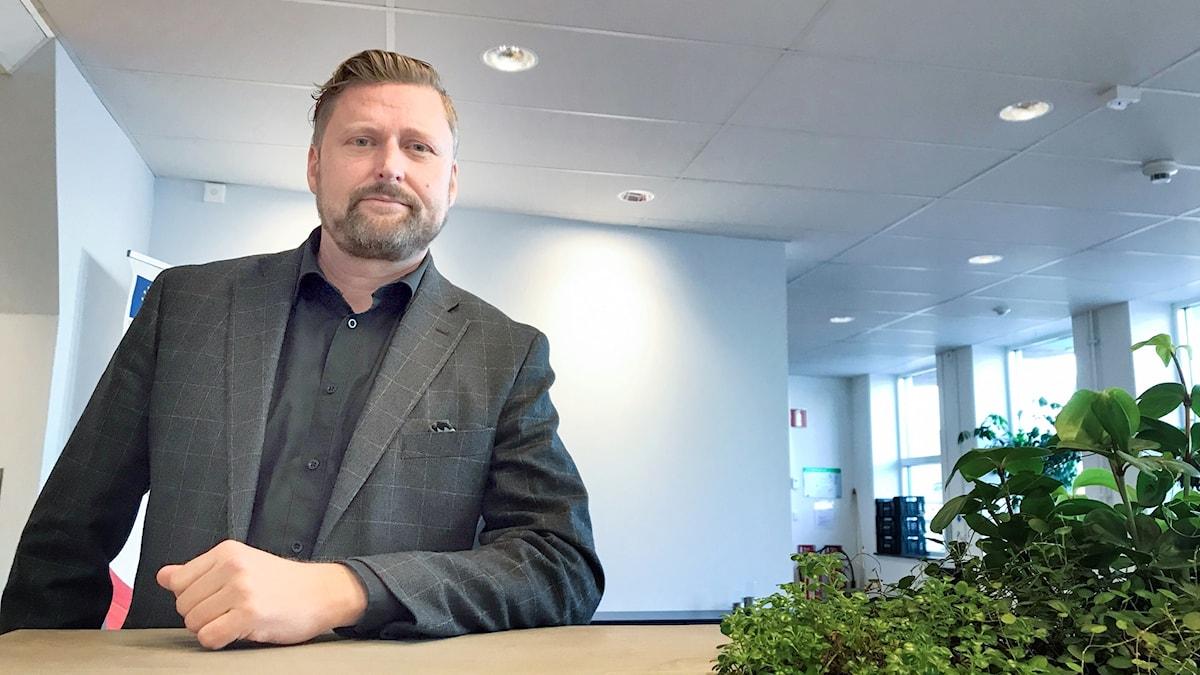 Patrik Sällström avdelningschef Tillväxtverket EU-fonder