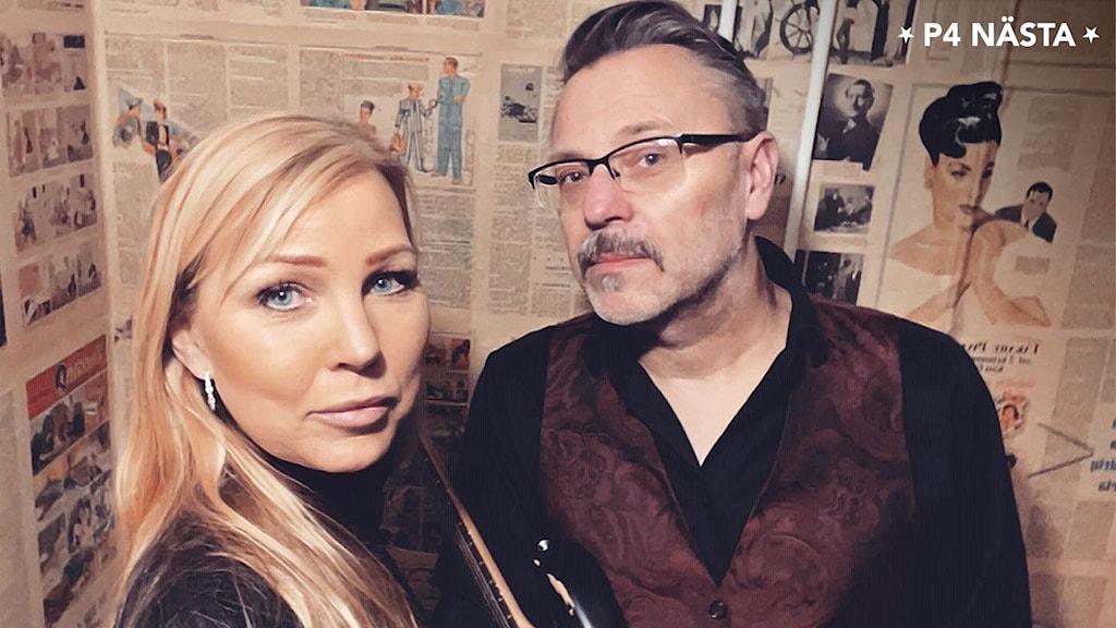 P4-Nästa 2021 Finalister Elisabeth Rolandsson och Janne Berglund