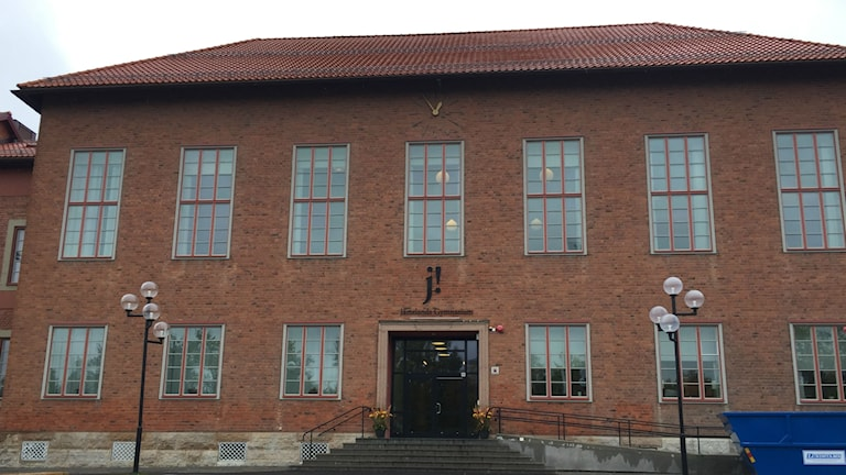 Wargentins gymnasium i Östersund.