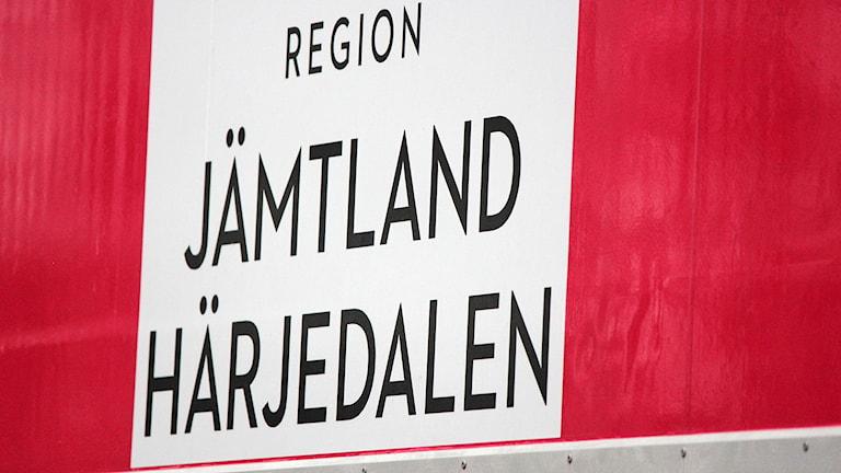 Region Jämtland Härjedalens rosa mammografivagn