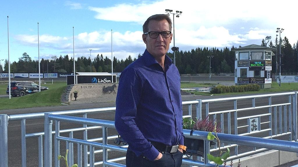 Jan Quicklund, chef på Östersundstravet.