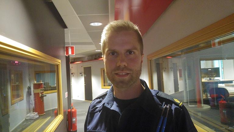 David Redin, gruppchef på utredningsavdelningen hos polisen i Jämtland