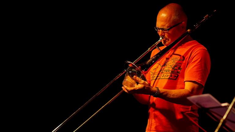 Waldemar Swiergiel musiker Östersund trombon