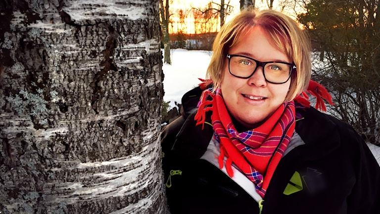 Matilda Hansson arbetar på Norrskog och är engagerad i Nätverket för yrkesverksamma kvinnor i skogen.