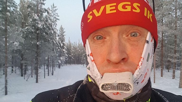 Håkan Degselius skidåkare från Ytterberg utanför Sveg