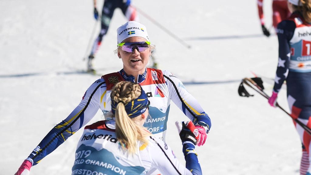 VM-guld för Sverige.