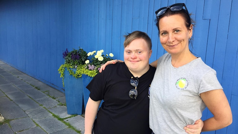 Filip Brovinger och Marina Brovinger bjöds in till Allsång på Skansen.