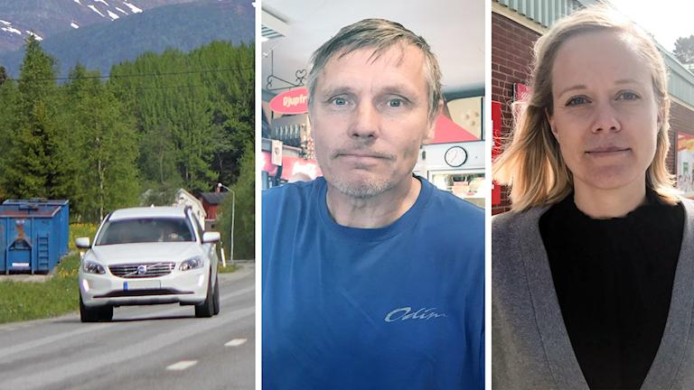 Bilpendlare Michael Olofsson Sara Häggström reseavdrag Krokom
