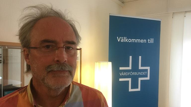 Roger Bergebo, ordförande Vårdförbundet Jämtland