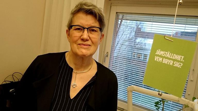 Ingegärd Pettersson, särskilt sakkunnig på jämställdhet på länsstyrelsen.