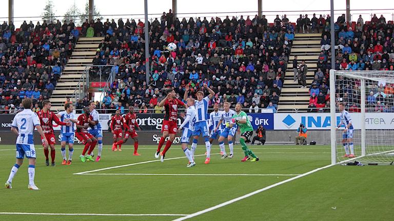 ÖFK vs IFK Göteborg matchsituation