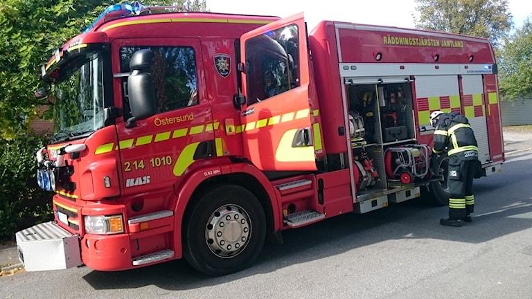 Räddningstjänsten Jämtland Brandbil