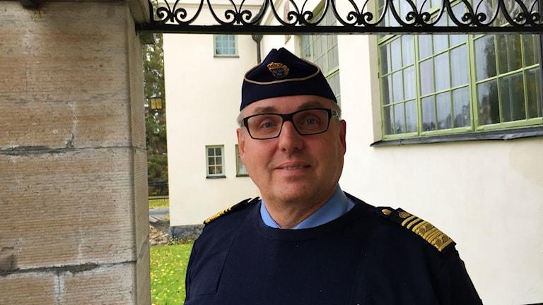 Klas Johansson regionpolischef region nord.
