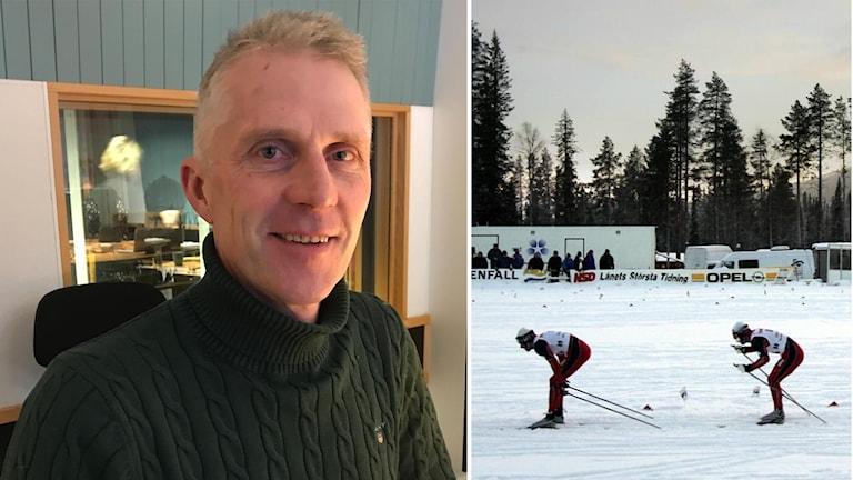 Bert-Ola Bångman vid Offerdals SK.