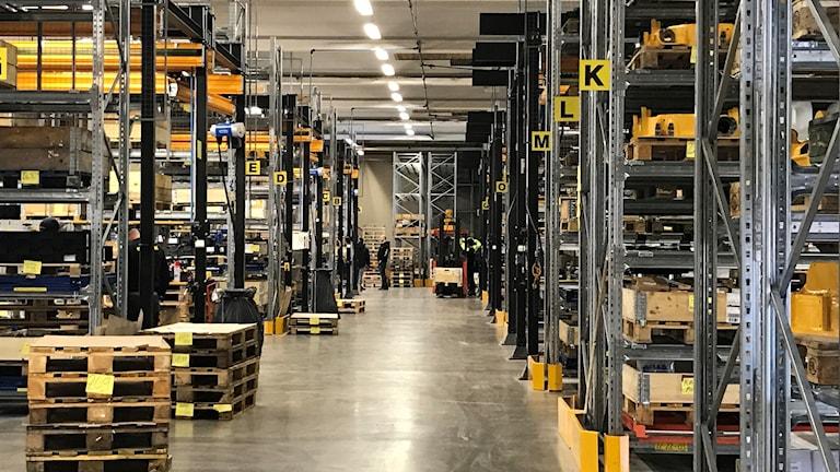 Den nya fabriken på Engcon