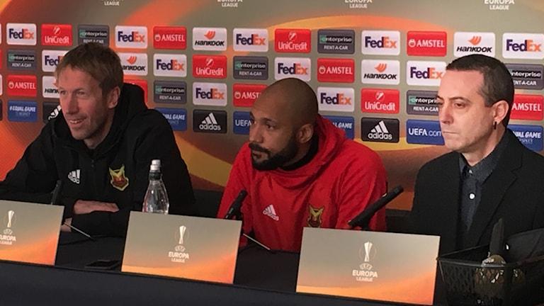 Rafael Rubia är tolk och anlitad till matchen mellan ÖFK och Athletic Bilbao.