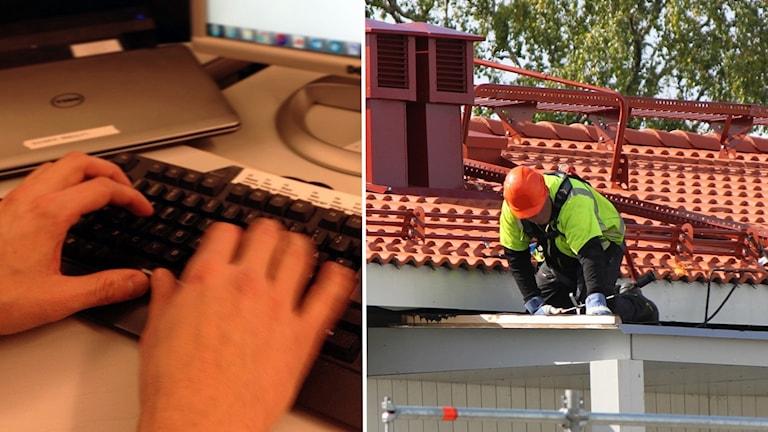 Brist på kompetent personal är stor inom både it och byggbranschen.