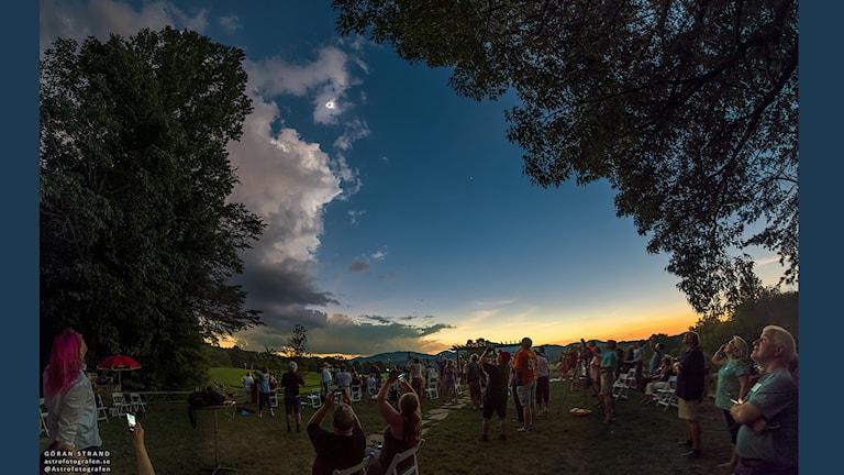 Fotografen Göran Strand från Östersund vid Brasstown Valley Resort, i Georgia, USA. Måndag 21 augusti 2017.