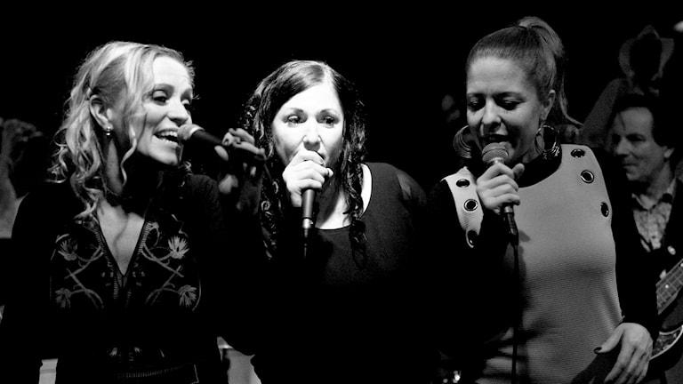De tre systrarna i gruppen Mama´s Kitchen