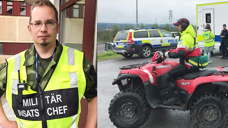 Eyvind Olsson Bozzi Fältjägarbataljonen militär insatschef solliden