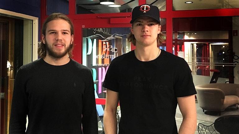 Axel Olsson och Carl Hjälm