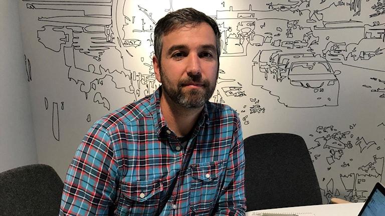 Evert Boeye, Projektledare för underhåll på Trafikverket.