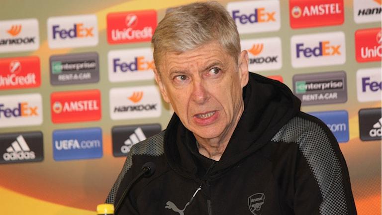 Arsenals tränare Arsene Wenger