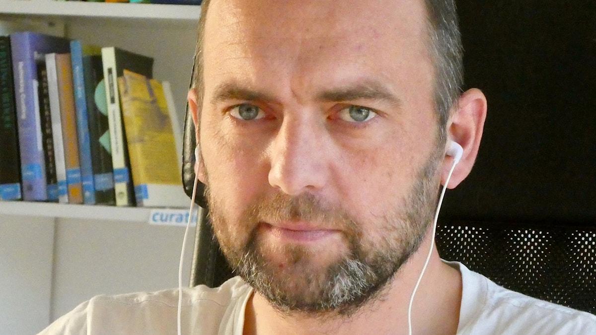 Den Andres, i det här fallet Viktoras Bachmetjevas, ansikte.