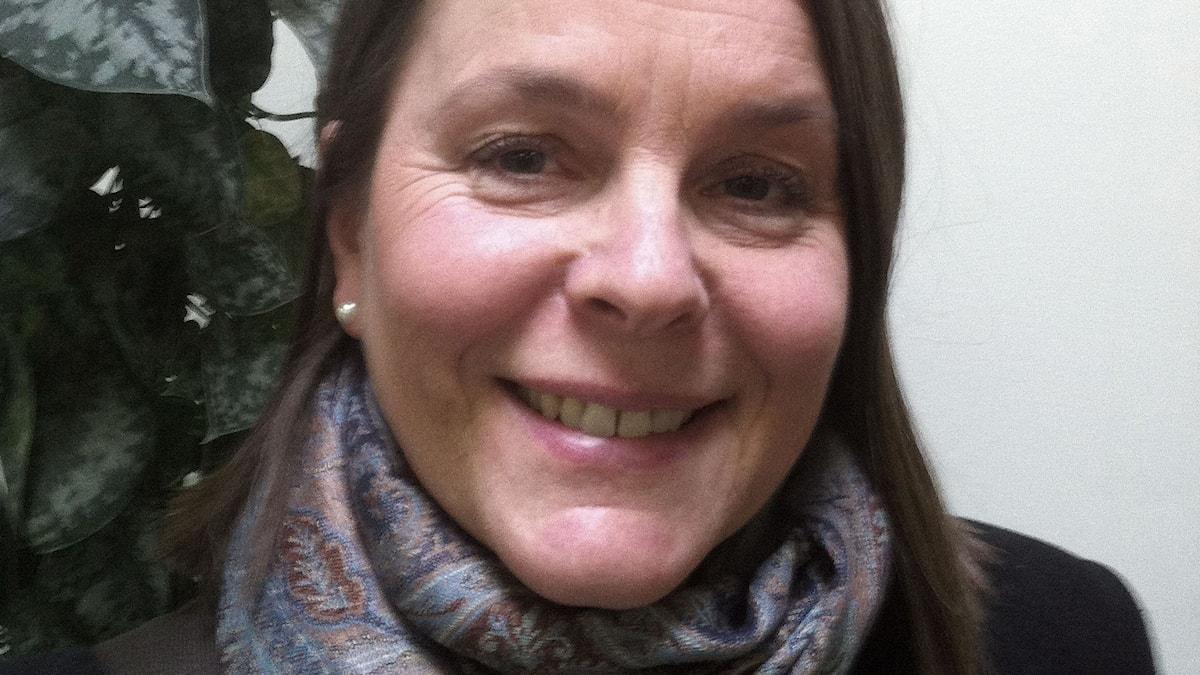 Ulla Manns, idéhistoriker och genusvetare. Foto Peter Sandberg.