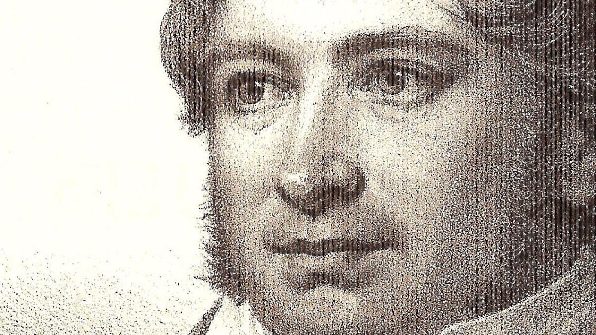 Erik Gustaf Geijer. Litografi i Samlade skrifter 1875