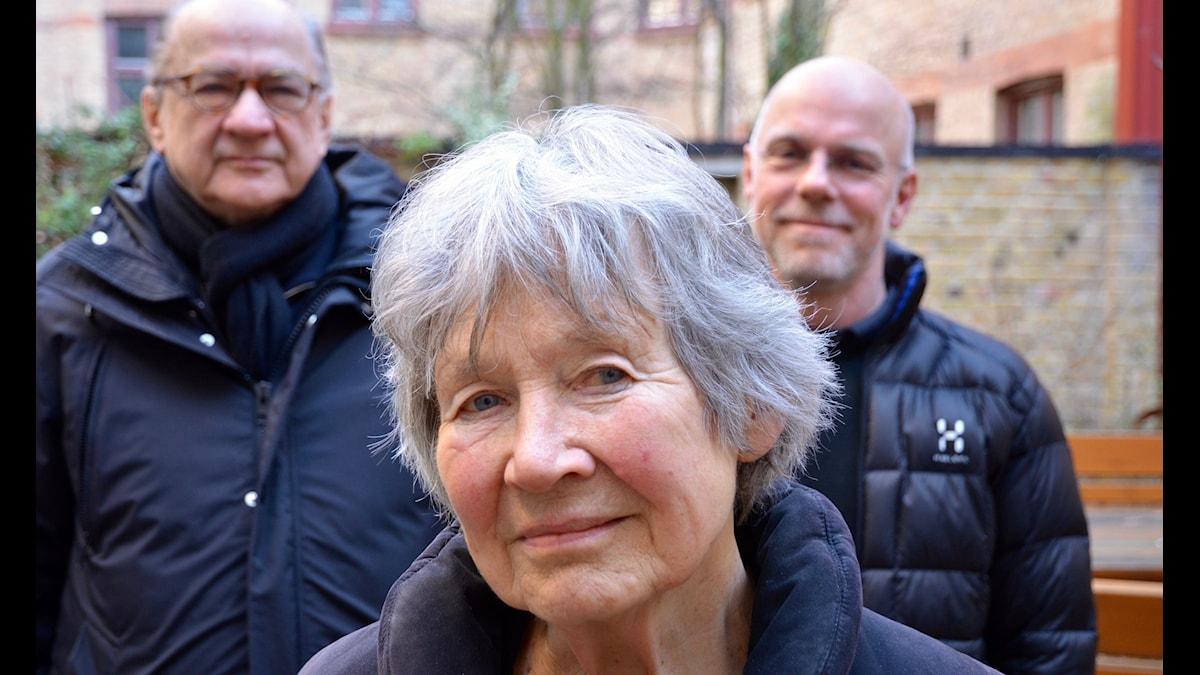 Anders Piltz, Anna-Lisa Sangregori och Anders Castor.