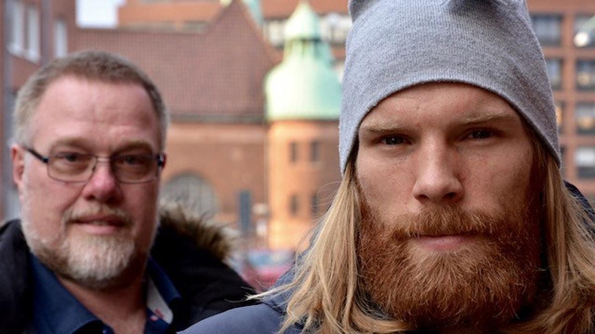 Frank Lorentzen och Zakarias Tallroth. Bild: Lars Mogensen