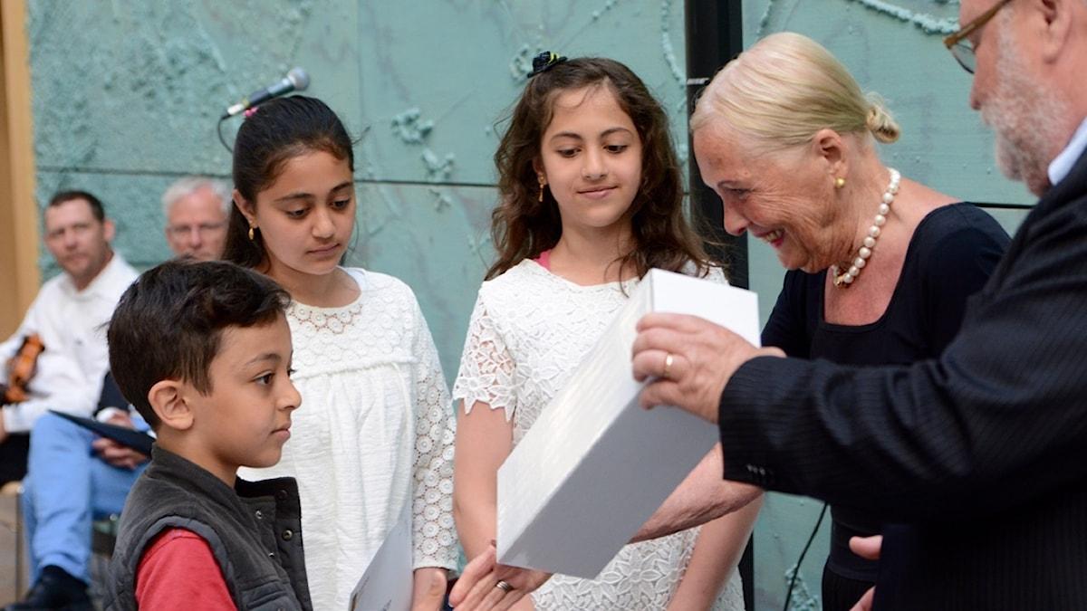 Ceremoni för nya svenska medborgare i Rådhus Skåne i Kristianstad.