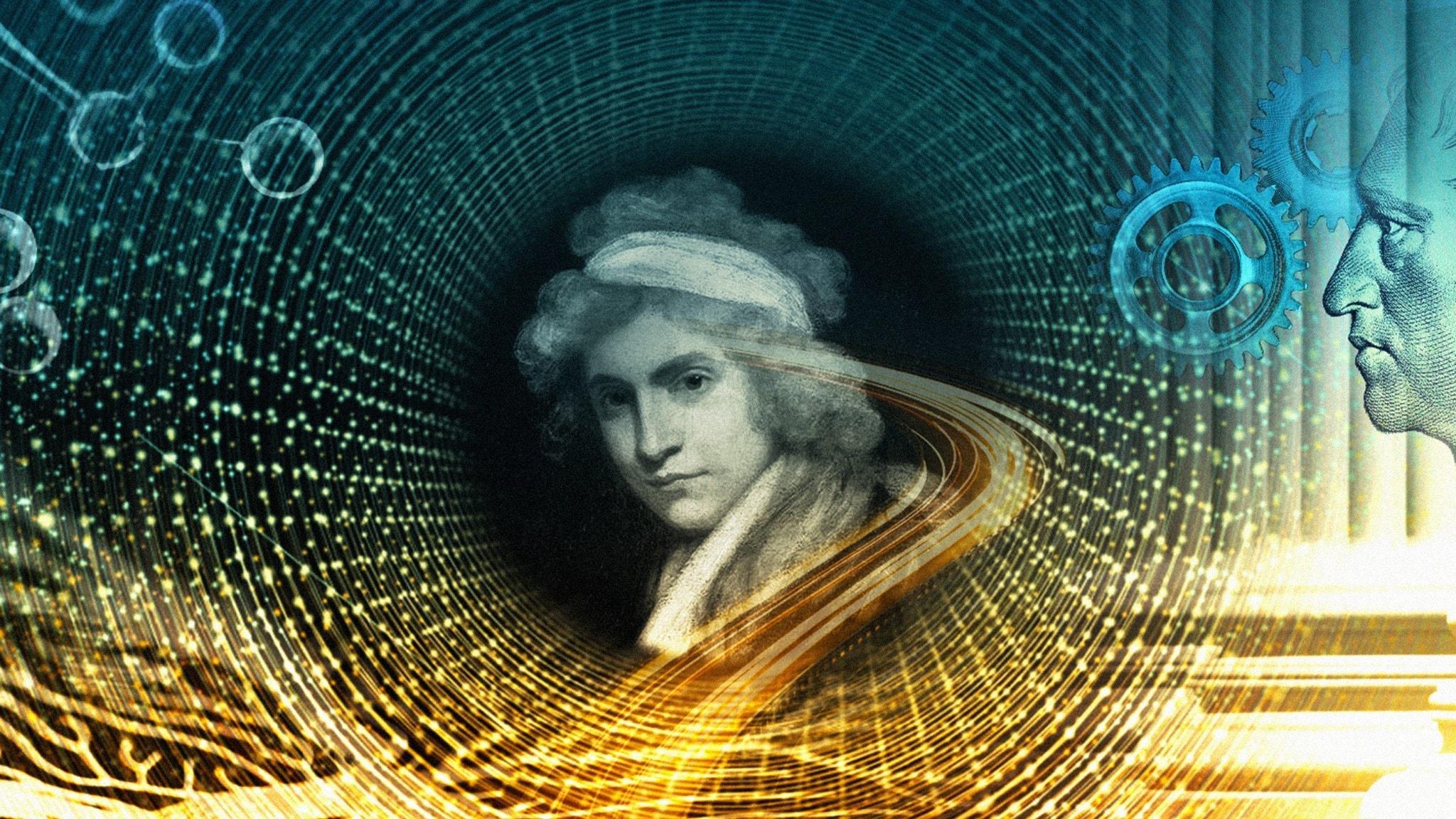 Bild på filosofen Mary Wollstonecraft