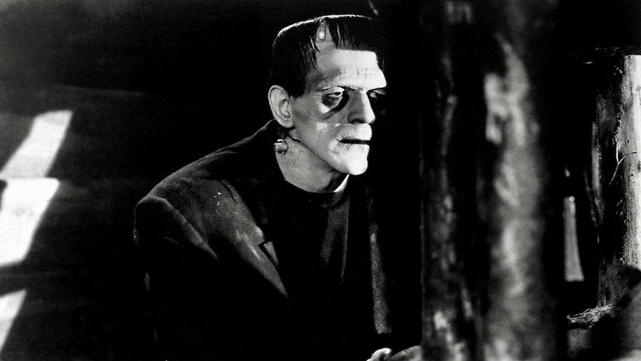 En stackare? Boris Karloff som Frankensteins monster.