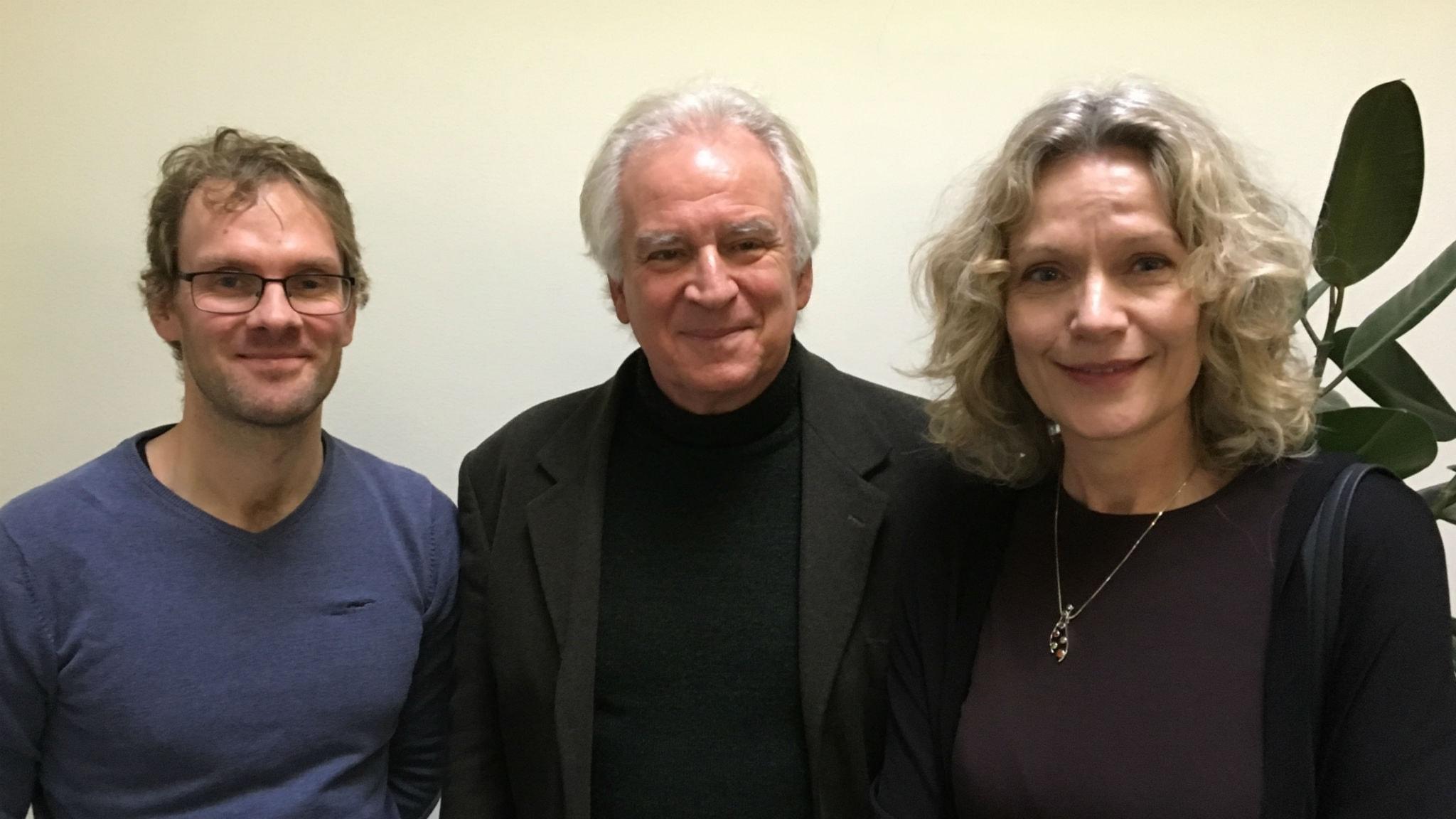 Marcus Lindskog, Peter Gärdenfors och Åsa Wikforss.