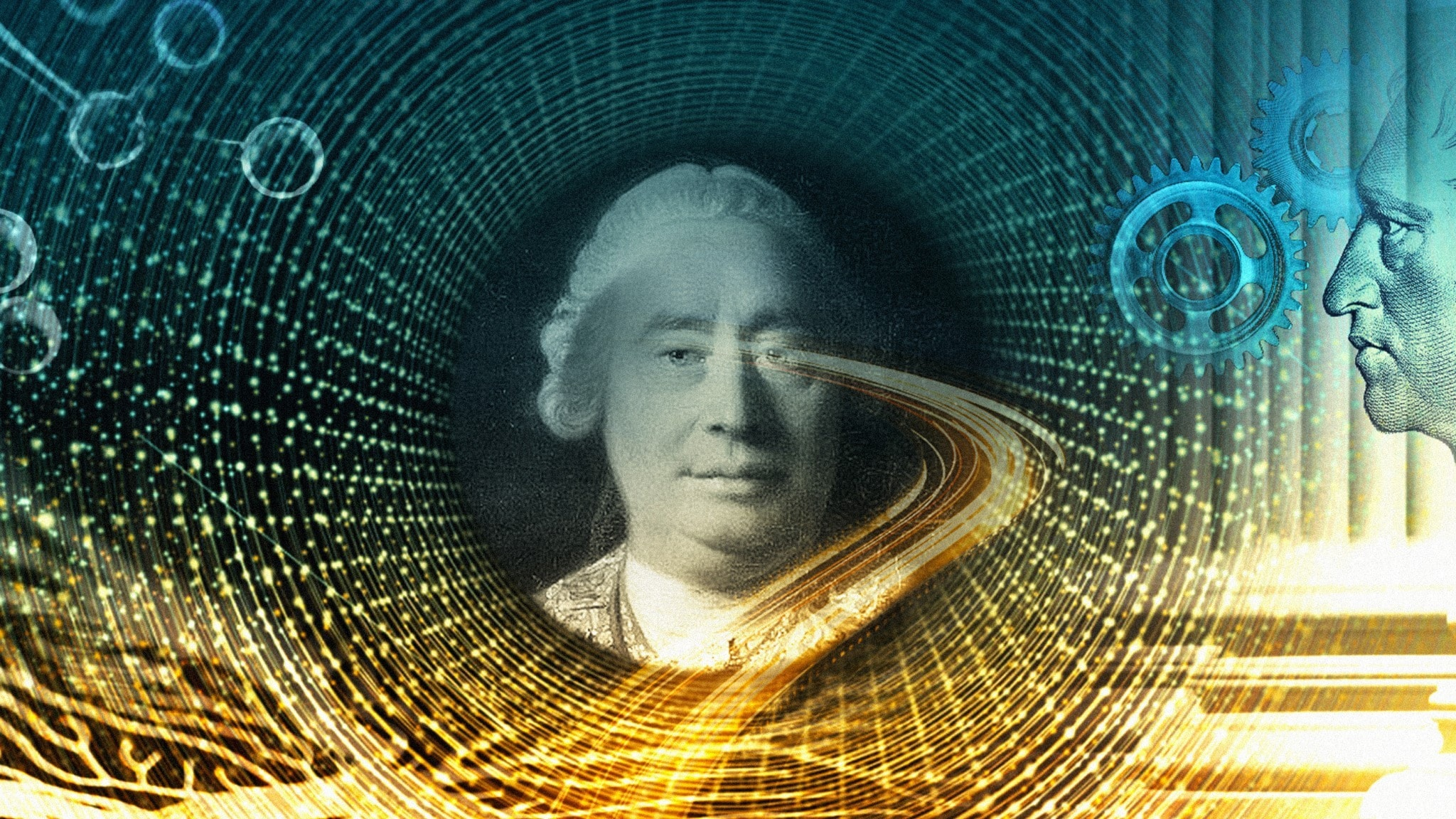 Bild på filosofen David Hume