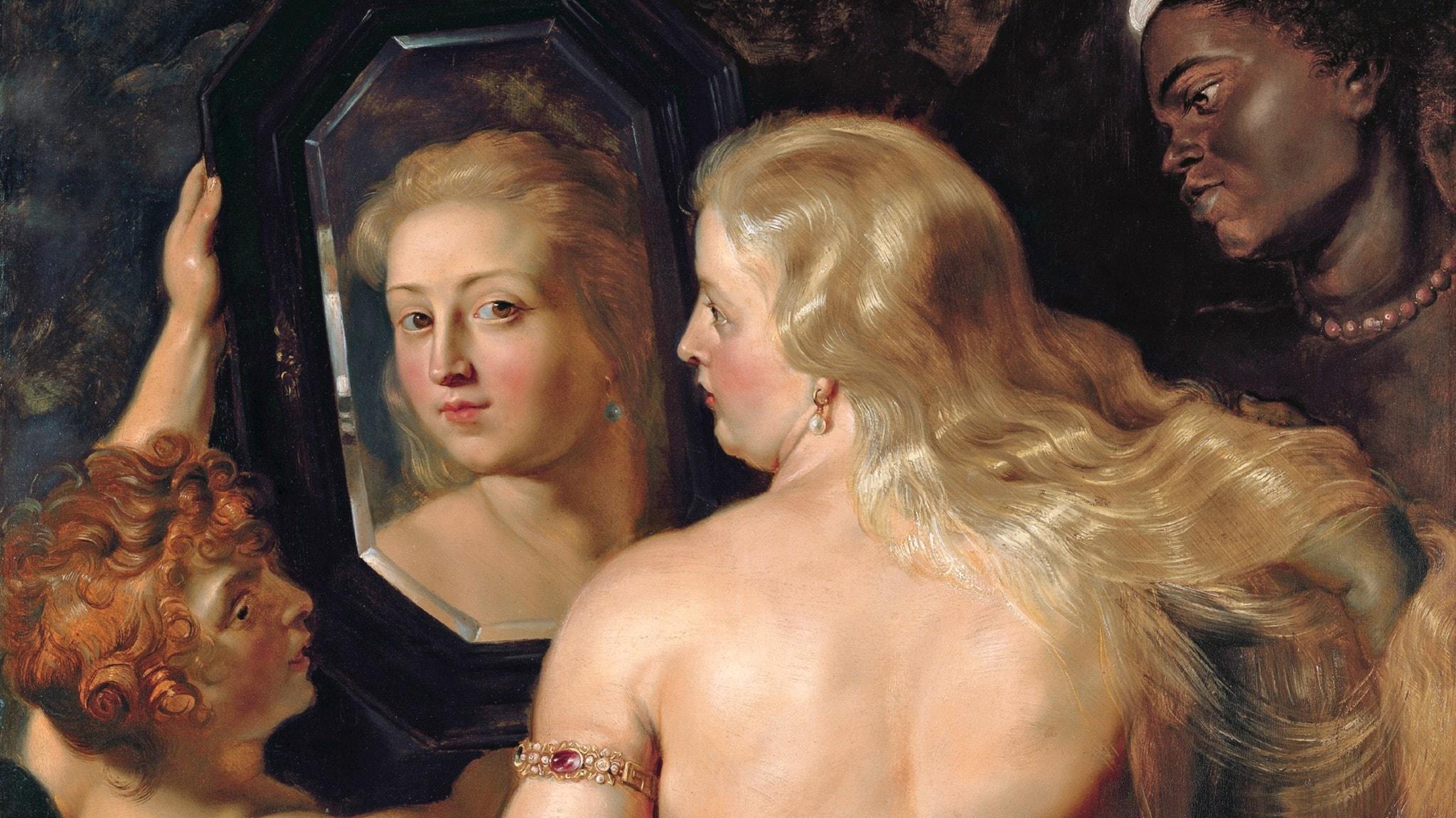 Peter Paul Rubens: Venus framför spegeln (detalj)